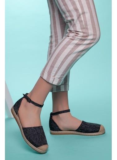 Muggo Espadril Ayakkabı Siyah
